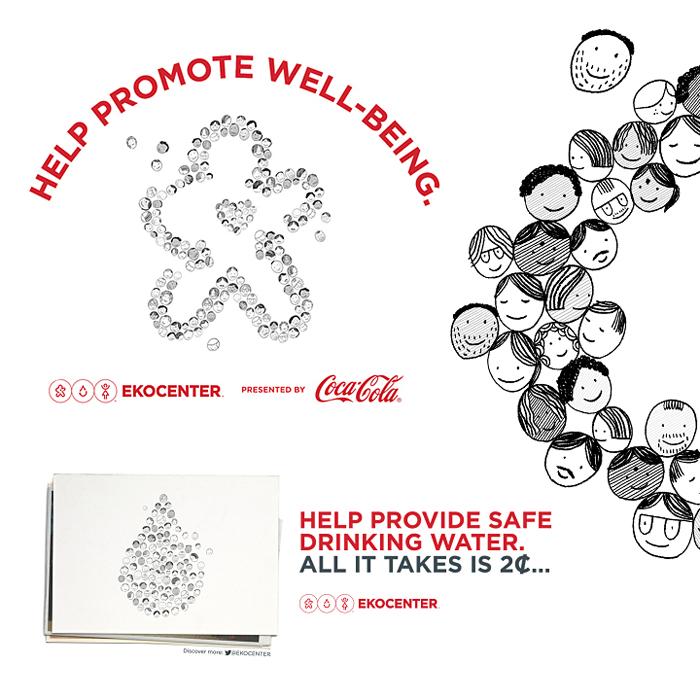 Coca-Cola Ekocenter Campaign