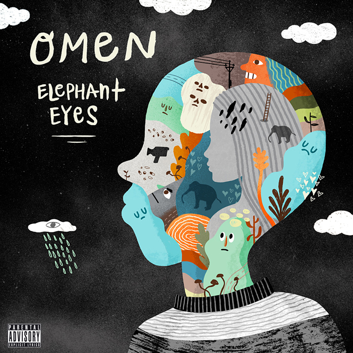 Omen Elephant Eyes Album Cover