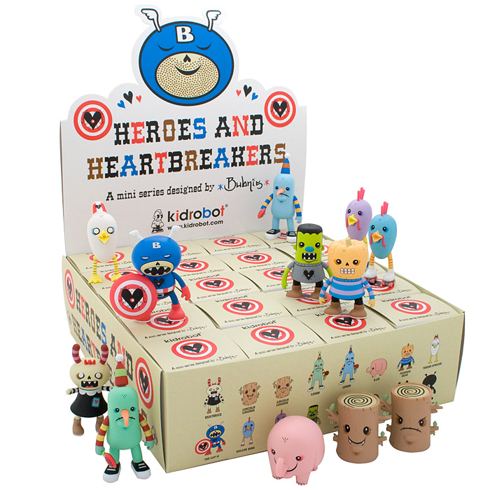 Kid Robot Heroes And Heartbreakers