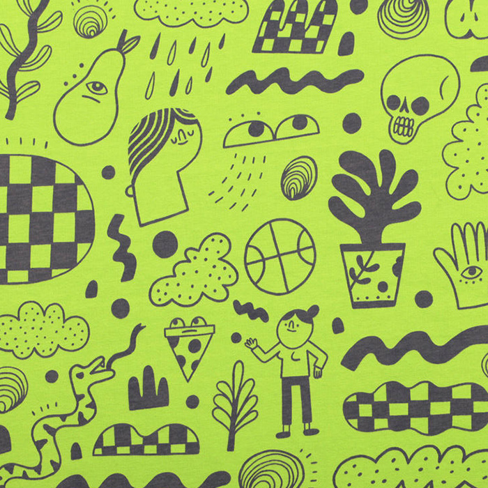 Graniph Doodle Daze Graphic T